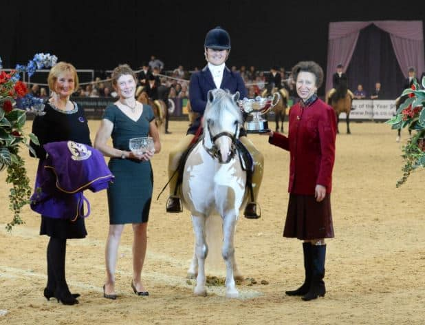 Trade Stands Hoys 2015 : Welcoming hrh the princess royal to horse of the year show the