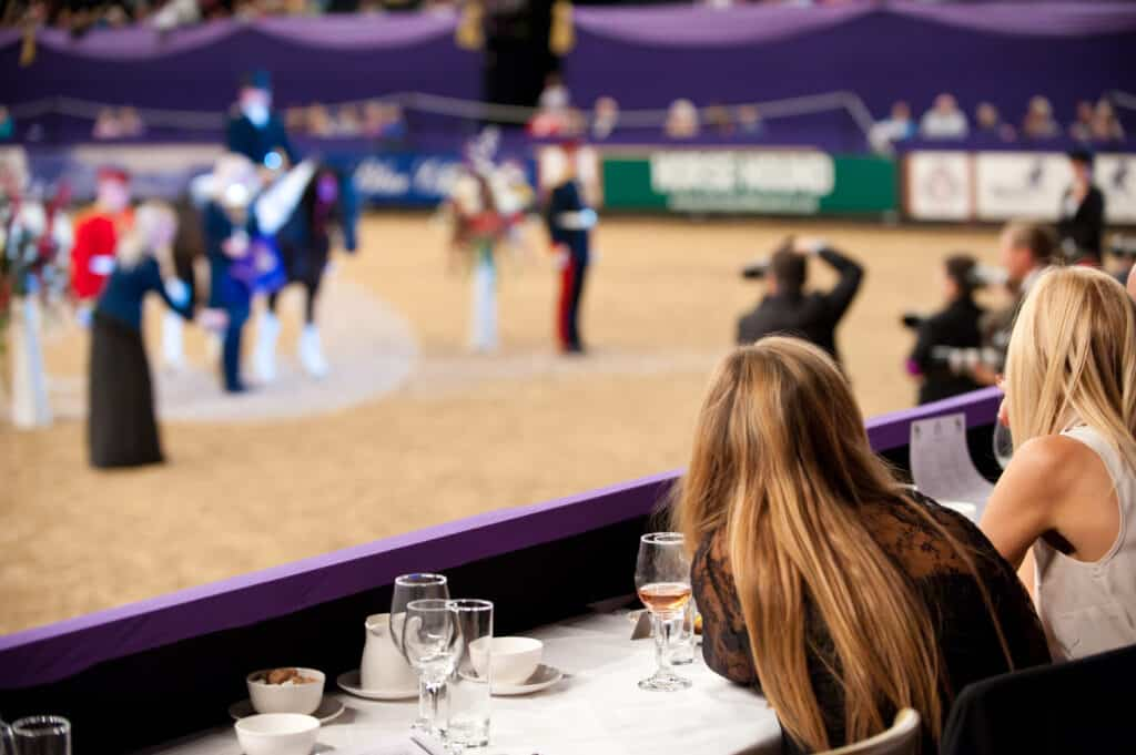 Horse of the Year Show Hospitality - Julian Portch