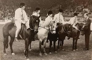David Davis Pony Club - HOYS 1972